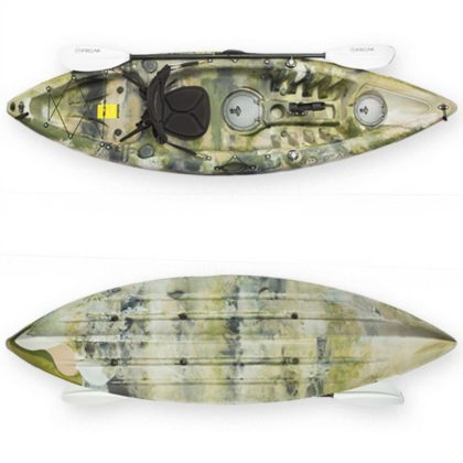 Assassin GT Fishing Kayak -Top and Bottom View