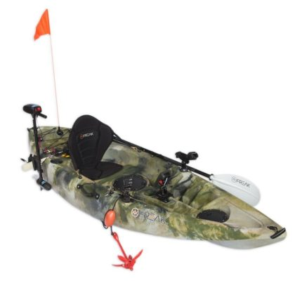 Assassin GT Fishing Kayak Equipped with Accessories