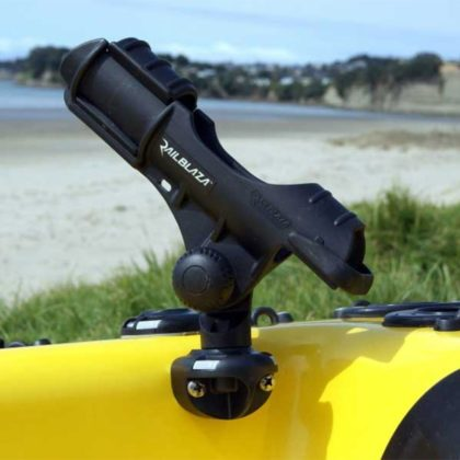 Railblaza SidePort Rod Holder - Mounted