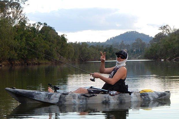 Kayak Lake Fishing - Freak Sports Australia