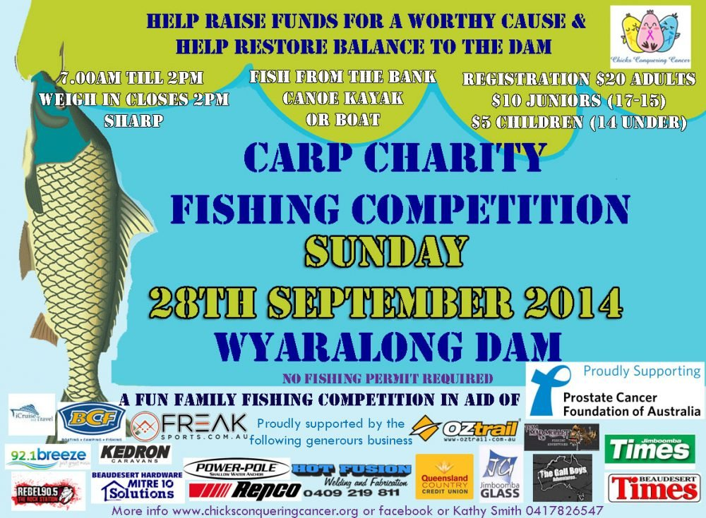 Carp Charity Fishing Competition Banner