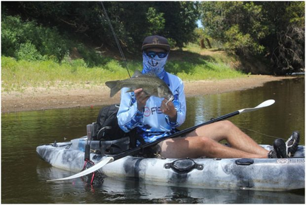 Solid Bass from a Kayak - Freak Sports Australia