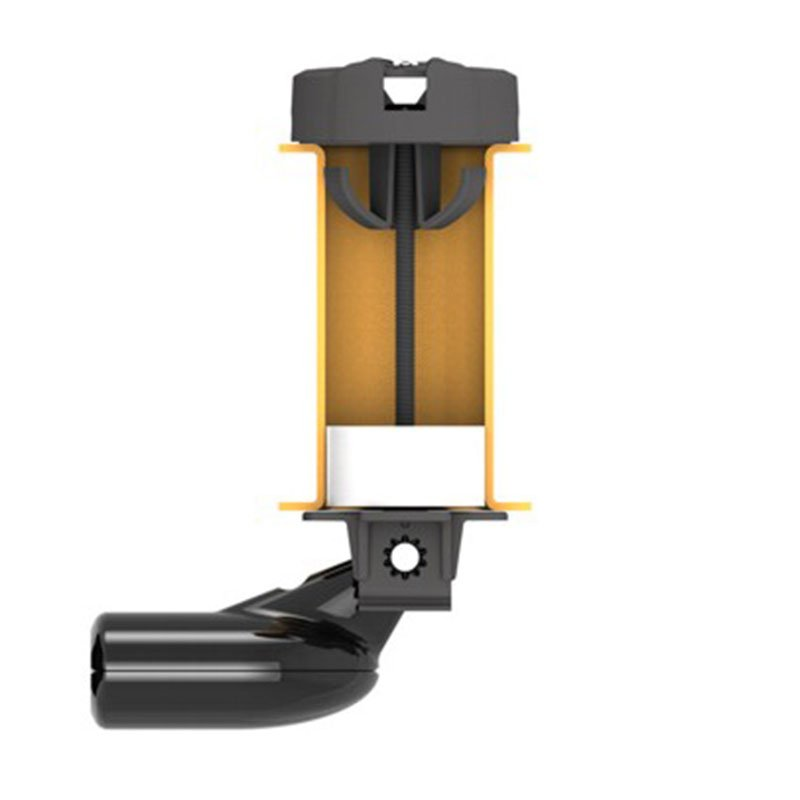 Lowrance kayak scupper transducer mount for Lowrance trolling motor transducer installation