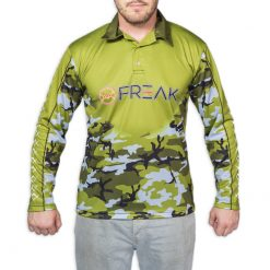 Green Camo Fishing Shirt