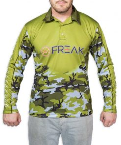 Freak Army Camo Fishing Shirt - Freak Sports Australia