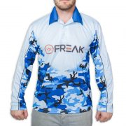 Marine Camo Fishing Shirt - Freak Sports Australia