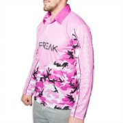 Freak Sports Australia Purple Fishing Shirt