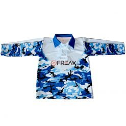 Fishing Shirt Marine Camo