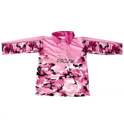 Fishing Shirt Purple Camo
