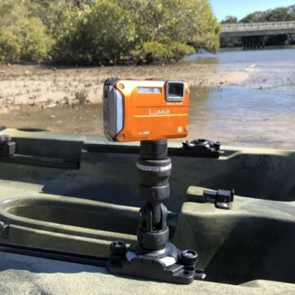 Railblaza Camera Mount Kit Close Up - Freak Sports Australia
