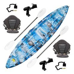 Double Agent Tandem Recreational Kayak Package Top