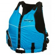 Ultra Rewa Ladies Pink Kayaking L50s PFD Blue Front - Freak Sports Australia