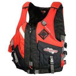 Ultra Pinnacle Red Adult Kayaking L50 PFD Front