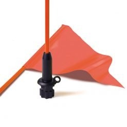 Railblaza Flag Whip and Pennant Black Base