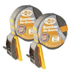 Bomber Tie Down Straps Pair 3m - Freak Sports Australia