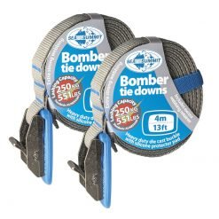 Bomber Tie Down Straps Pair 4m