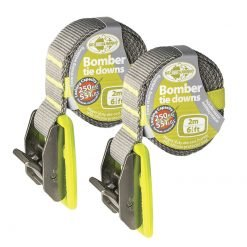 Bomber Tie Down Straps Pair 2m