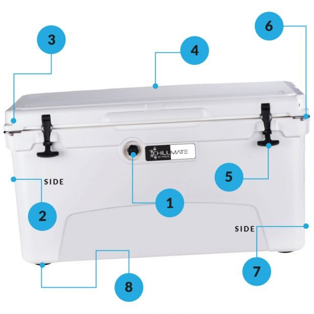 ChillMate 20 Cooler Box - Freak Sports Australia