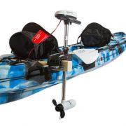 Double Agent Tandem Fishing Kayak Package Electric Motor and Mount