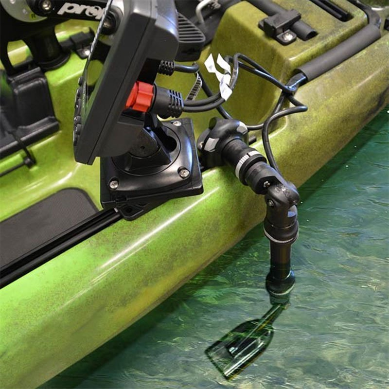 railblaza kayak sounder and transducer mount freak