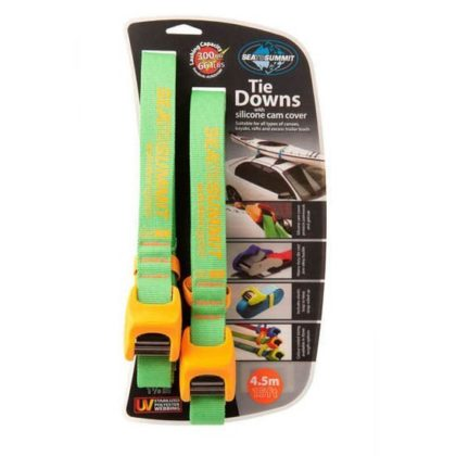 Sea to Summit Heavy Duty Tie Down Straps with Silicone Cam Cover 4.5M - Freak Sports Australia