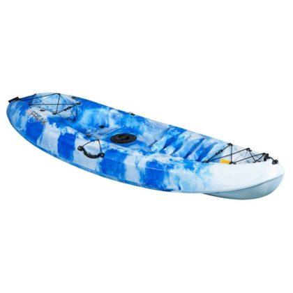 Scout Sit On Top Recreational Adult and Kids Kayak Front Ocean Spray