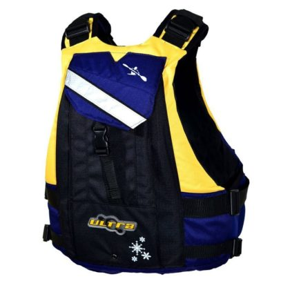 Ultra Trek Yellow Adult Kayak L50 PFD Back