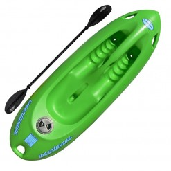 Weeniwave Kids Kayak and Paddle Green