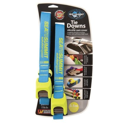 Sea to Summit Heavy Duty Tie Downs with Silicone Cam Cover 3.5M - Freak Sports Australia