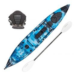 Torpedo 14 Rookie Angler Sit On Top Ocean Kayak Package Marine