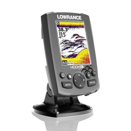 Lowrance Hook 3x CHIRP Fishfinder with Downscan