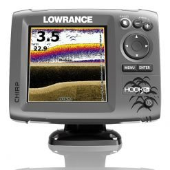 Lowrance Hook 5x CHIRP Fishfinder with Downscan