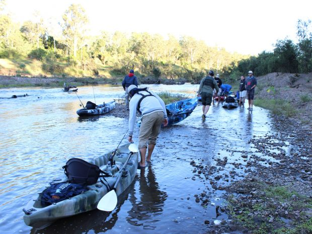 Kayak Fishing with Your Mates - Freak Sports Australia