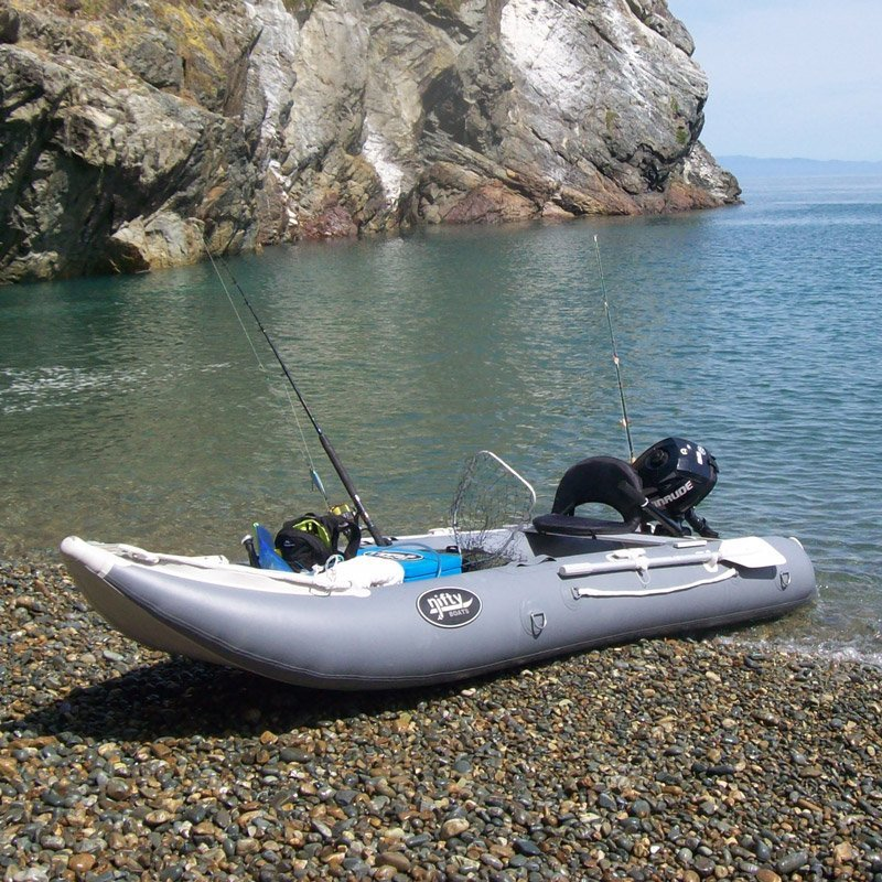 Nifty boats inflatable fishing kayak freak sports australia for Rubber boats for fishing