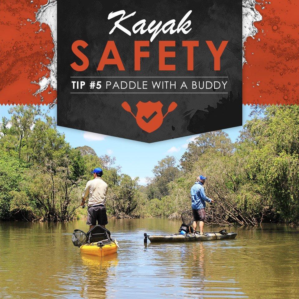 Kayak safety tips banner - Freak Sports Australia