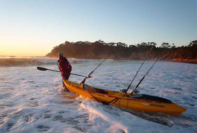 Kayak Towing - Freak Sports Australia