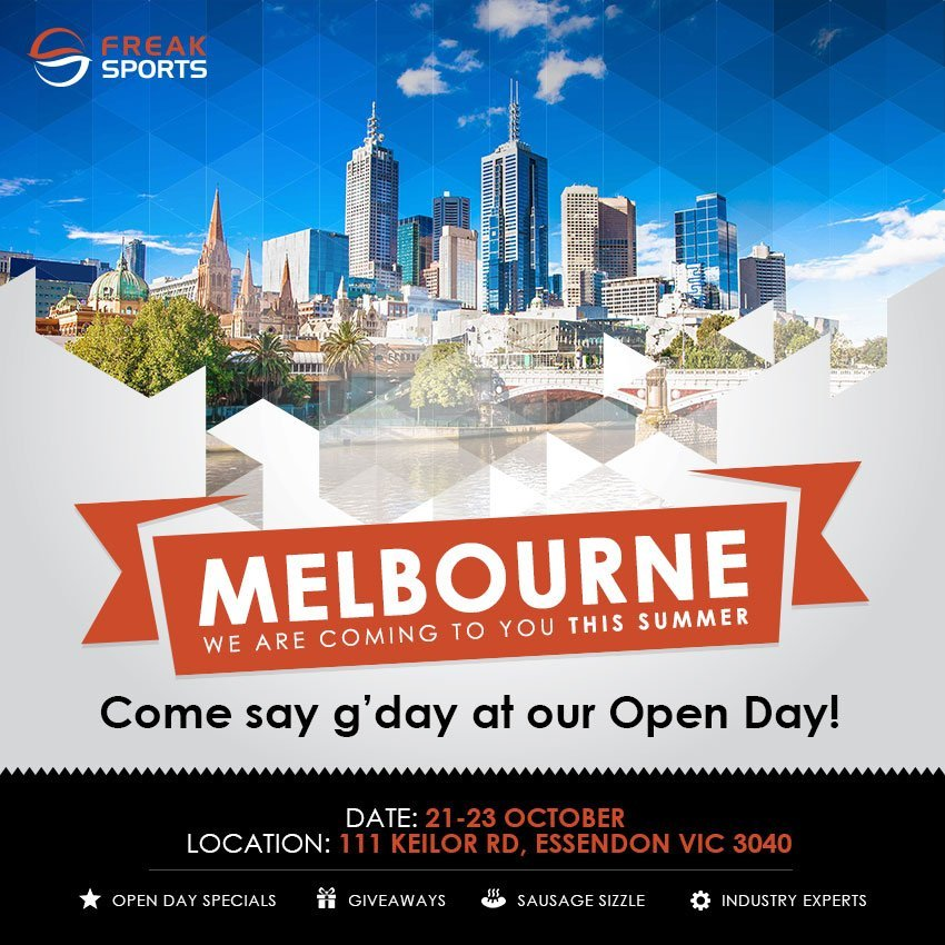 Melbourne open day banner