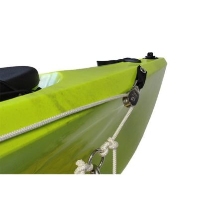 Freak kayak anchor trolley running rig