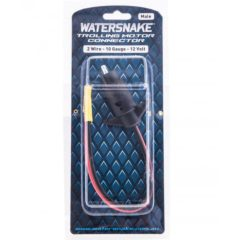 Watersnake Trolling Motor Power Connector Male 12v - Freak Sports Australia