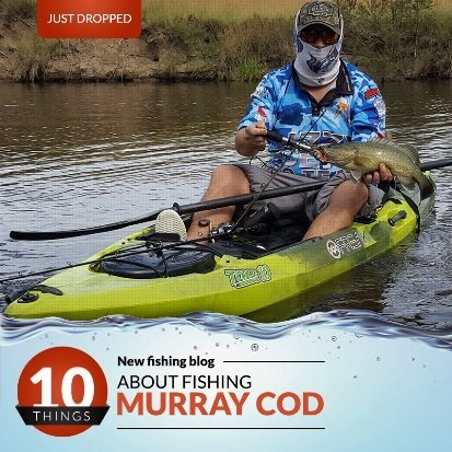 About Fishing Murray Cod - Freak Sports Australia