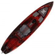 Perception pescador pilot 12 kayak red tiger