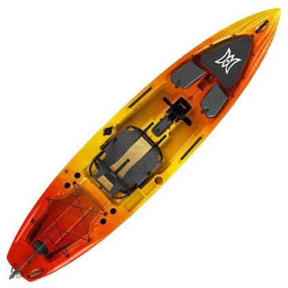 Perception pescador pilot 12 kayak sunset