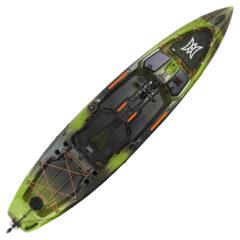 Perception Pescador Pilot 12 Pedal Kayak Moss Camo