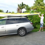K- Rack Kayak Loader In Use - Freak Sports Australia