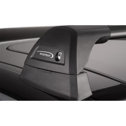 Whispbar roof rack flush bar black