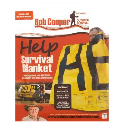 Bob Coopers Help Survival Blanket