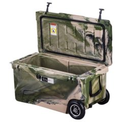 Freak chillmate 70 cooler box with wheels army camo