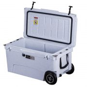 ChillMate 70 Cooler Box With Wheels Granite