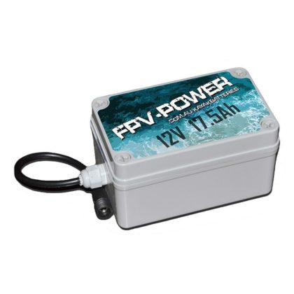 FPV-POWER 17.5Ah Lithium Kayak Battery and Charger Combo