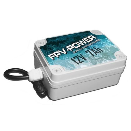 FPV-POWER 7Ah Lithium Kayak Battery Charger Combo